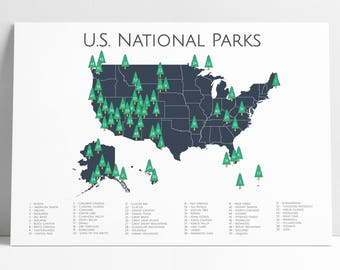 National Park Poster, National Park Map, Adventure Art, Nursery Art, Outdoor Art, Travel Art, Travel Map, Explorer, Explorer Print