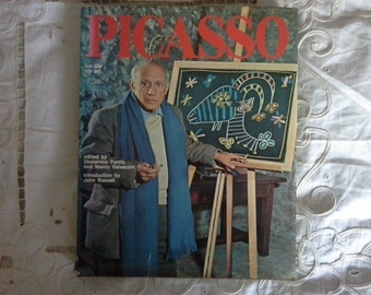 Picasso his life his art   large hardback book