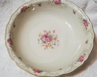 US Zone Serving Bowl, Seltmann Porcelain, Weiden Germany