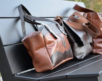 Unique Leather handbag