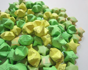 100 Luau Love Origami Stars