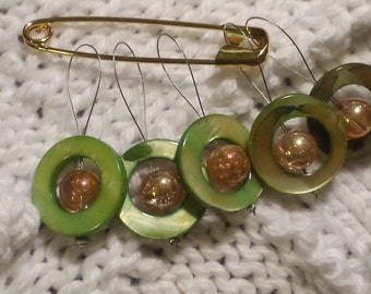 Knitting Stitch Markers 1