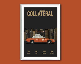 Movie poster Collateral print in various sizes