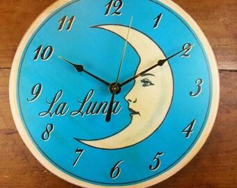 Loteria La Luna Wall Clock