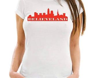 Cleveland Believeland T Shirt