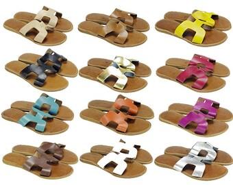 CHRISTINA SANDALS, 100% Leather