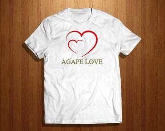 Agape Love Short Sleeve tee