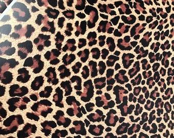 Leopard printed vinyl Pattern Vinyl HEAT TRANSFER or ADHESIVE, Printed Vinyl Printed HTv quatrefoil, polka dots, aztec