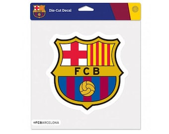 """FC Barcelona Perfect Color Decal 8"""" X 8"""""""