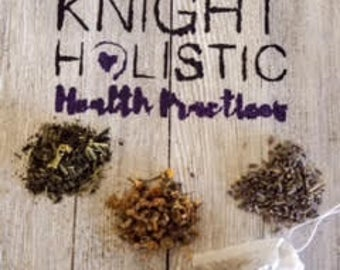 Stress Free Tea, Knight Holistic Herbal Tea