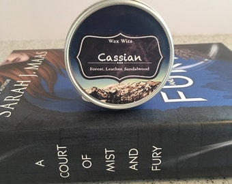 Cassian - A Court of Mist and Fury Inspired Candle