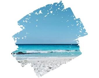 Manini'owali Beach, Hawaii Series - No. 3 - Instant Download