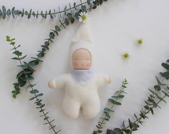 Waldorf doll, baby doll, handmade doll, pocket doll, cuddle doll