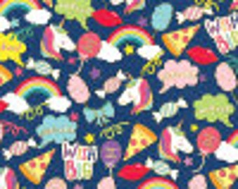 Unicorn & Rainbows Wrapping Paper| 2 feet x 5 feet| Gift Wrapping Paper