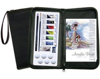 Keep N' Carry Artist Set-Acrylic Paint set