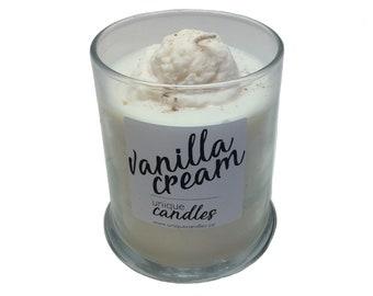 12oz Vanilla Cream Soy Candle