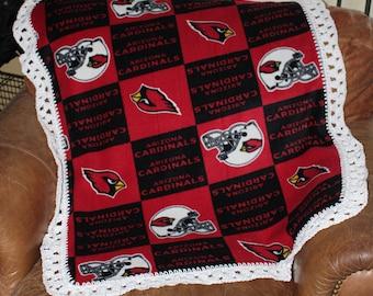 Arizona Cardinals Baby, Toddler Blanket