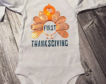 First thanksgiving onesie