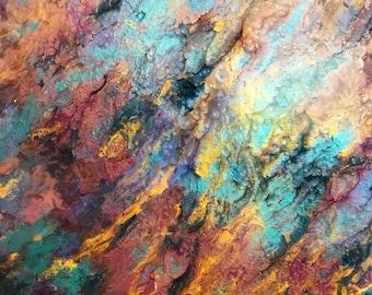 40X40 Mixed Media Painting