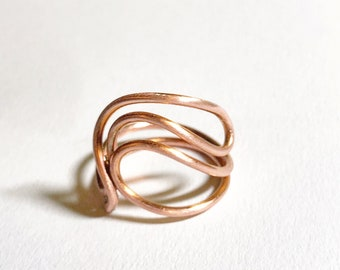 Simplicity Copper Wire Band By Rework Creative