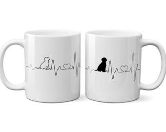 Personalized Cup love doggy