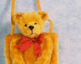Teddy Bear Muff Miniature Teddy Bear Kit - Pattern - by Emily Farmer