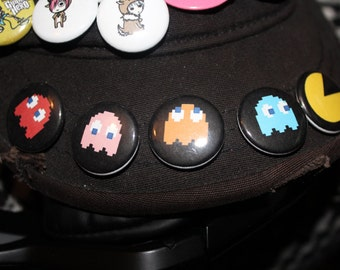 Pac-Man Pinback Button