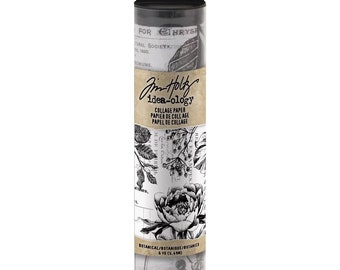 COLLAGE PAPER BOTANICALS  by Tim HoLTZ -  New and In Stock Now !!