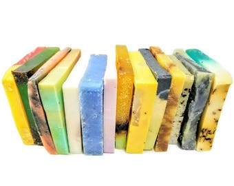 Vegan Soap/Soap Sampler/Soap Samples/Soap Gift/Essential Oil Soap/Handmade Soap/Soap Stack/Soap Bundle/Christmas Gift/Bar Soap/Organic Soap