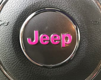 OEM Steering Wheel Emblem Decal