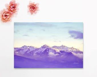 "mountain landscape, landscape photography, photograph with mat, landscape wall art, landscape art prints, nature photography - ""12 Below"""