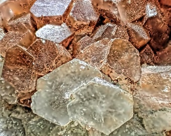 Lovely Sputnik Aragonite Crystal Cluster