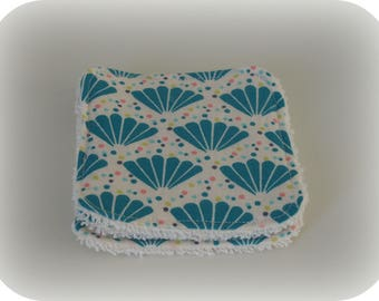 Washable cotton and coordinating Terry cloth