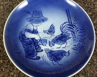 1981 Mothers Day Plate