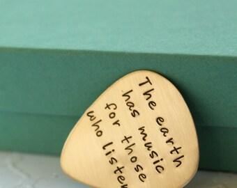 Personalized Guitar Pick - Custom Guitar Pick - Music Lovers Gift - Musician Gift - Personalized Guitar Pick -  Personalized Gift for Men -