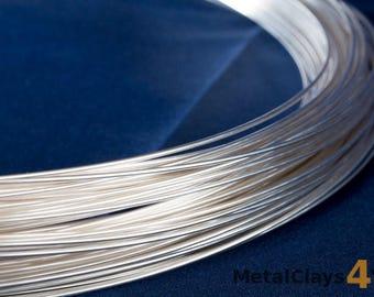 925 Sterling Silver Round Wire (Half Hard)
