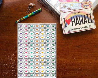 Colorful Mail Planner Stickers