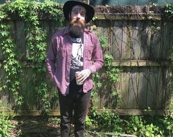 Wrangler Western Shirt Mens 1970s