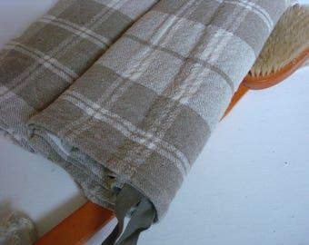 Guest towel set of 2 linen bath towel hand towel by Luxoteks
