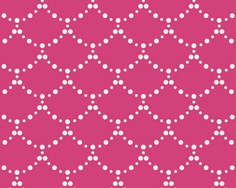 Ripples Pink fabric (sold in 1/2 yard increments) from From Millie Fleur by Bari J. (Art Gallery Fabrics)