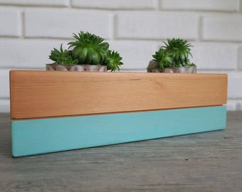 Wood Cacti Planter, Wood Cactus Planters, Cacti planter, Succulent Planter, Air Planter, Air Plant Holder, Gift Ideas For Gardeners