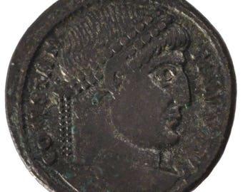 constantine i nummus arles au(55-58) copper cohen #665 3.40
