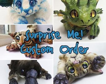 Suprise Me! Custom OOAK Plush Art Doll