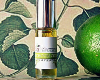 Patchouli Citrus Natural Perfume Oil Roll on