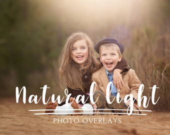 50 Natural Light Photoshop Overlays, sun overlays, photoshop overlays, light overlay, lens flare overlays
