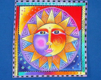Gorgeous Celestial Dreams Applique*Handmade*Retired Laurel Burch fabric/195