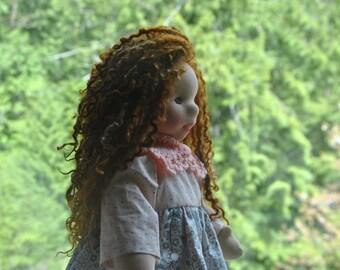 Waldorf-inspired art doll