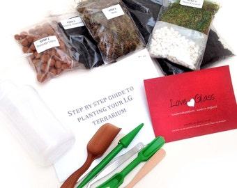 LG Succulent & Cacti Terrarium Kit - Step by Step Guide