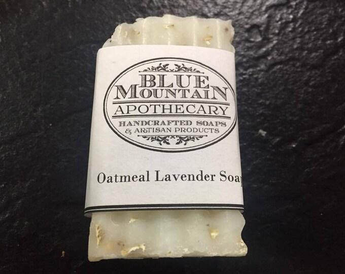 Oatmeal Lavender Lye Soap