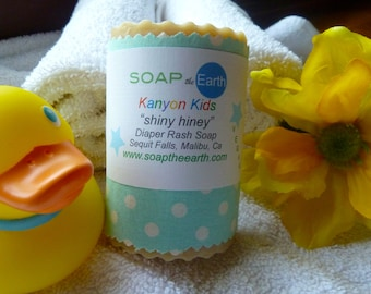 Calming Baby Soap Made With Organic Ingredients Vegan